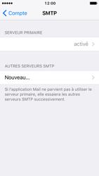 Apple iPhone SE - iOS 10 - E-mail - Configuration manuelle - Étape 24