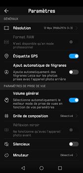 Huawei P20 - Photos, vidéos, musique - Prendre une photo - Étape 9