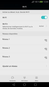 Huawei Mate S - Wi-Fi - Accéder au réseau Wi-Fi - Étape 5