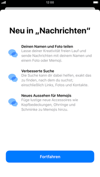 Apple iPhone 8 Plus - iOS 13 - MMS - Erstellen und senden - Schritt 5