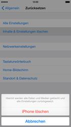 Apple iPhone 6 iOS 8 - Fehlerbehebung - Handy zurücksetzen - Schritt 8