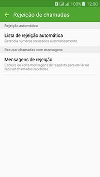 Samsung Galaxy J7 - Chamadas - Como bloquear chamadas de um número específico - Etapa 7