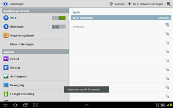 Samsung N8000 Galaxy Note 10-1 - Wifi - handmatig instellen - Stap 7