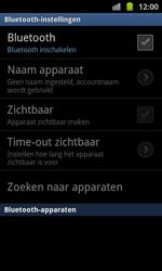 Samsung I8530 Galaxy Beam - bluetooth - aanzetten - stap 6