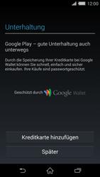 Sony Xperia Z2 - Apps - Konto anlegen und einrichten - Schritt 20