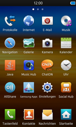 Samsung S8600 Wave 3 - E-Mail - Konto einrichten - Schritt 3
