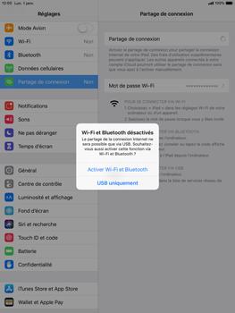 Apple iPad 9.7 (2018) iOS12 - Internet - comment configurer un point d'accès mobile - Étape 7