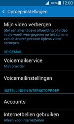 Samsung G357 Galaxy Ace 4 - Voicemail - Handmatig instellen - Stap 5