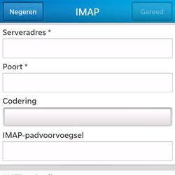 BlackBerry Q5 - E-mail - Handmatig instellen - Stap 10