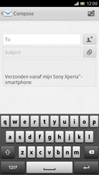 Sony LT28h Xperia ion - E-mail - Sending emails - Step 5