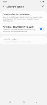 Samsung Galaxy A70 - software - update installeren zonder pc - stap 5