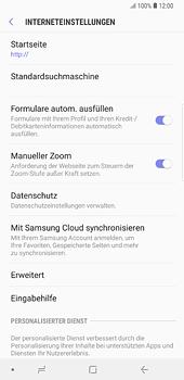 Samsung Galaxy S8 Plus - Android Oreo - Internet und Datenroaming - Manuelle Konfiguration - Schritt 24