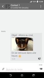 HTC Desire 530 - Contact, Appels, SMS/MMS - Envoyer un MMS - Étape 19