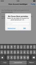 Apple iPhone 6 iOS 8 - Apps - Einrichten des App Stores - Schritt 26