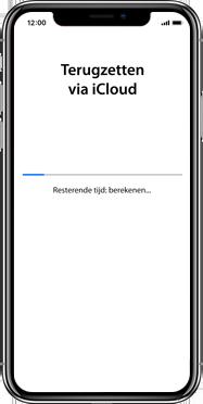 Apple iphone-xs-max-met-ios-13-model-a1921 - Instellingen aanpassen - Activeer het toestel en herstel jouw iCloud-data - Stap 28