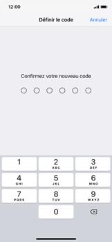 Apple iPhone XS - Sécurité - activéz le code PIN de l'appareil - Étape 7