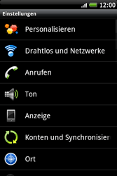 HTC Wildfire S - Internet - Manuelle Konfiguration - 4 / 24