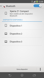 Sony Xperia Z1 Compact - Bluetooth - Collegamento dei dispositivi - Fase 6