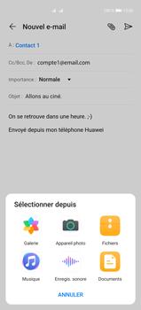 Huawei P40 Pro - E-mails - Envoyer un e-mail - Étape 10