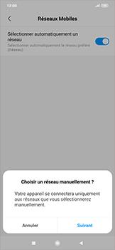 Xiaomi RedMi Note 7 - Réseau - Sélection manuelle du réseau - Étape 7