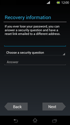 Sony Xperia T - Applications - Setting up the application store - Step 9