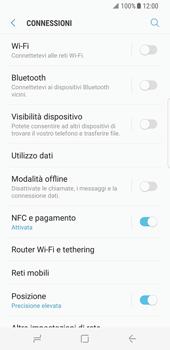 Samsung Galaxy S8 - Internet e roaming dati - Disattivazione del roaming dati - Fase 5