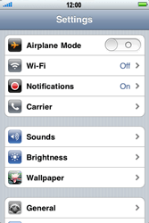 Apple iPhone 4 S - Bluetooth - Pair with another device - Step 3