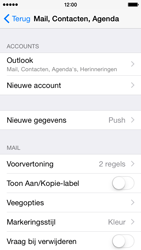 Apple iPhone 5 iOS 9 - E-mail - Handmatig instellen - Stap 9