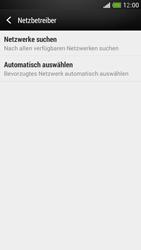 HTC One Mini - Netzwerk - Manuelle Netzwerkwahl - Schritt 6