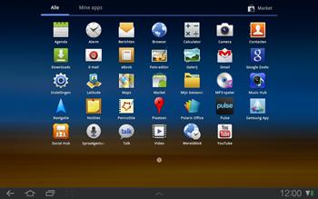 Samsung P7500 Galaxy Tab 10-1 - Internet - Hoe te internetten - Stap 2