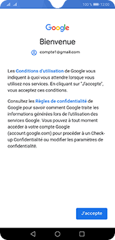 Huawei Mate 20 - E-mail - Configuration manuelle (gmail) - Étape 10