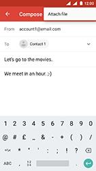 Nokia 3 - Android Oreo - E-mail - Sending emails - Step 10