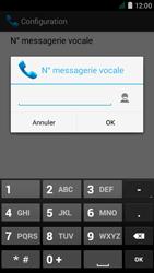 Acer Liquid Z410 - Messagerie vocale - Configuration manuelle - Étape 9