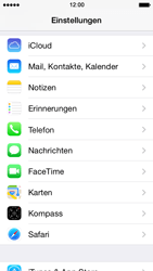 Apple iPhone 5s - E-Mail - Konto einrichten (outlook) - Schritt 3