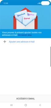 Samsung Galaxy S10 Plus - E-mail - 032a. Email wizard - Gmail - Étape 6