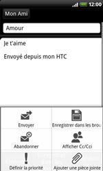 HTC A8181 Desire - E-mail - envoyer un e-mail - Étape 8