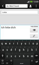 HTC Desire 500 - MMS - Erstellen und senden - 13 / 20