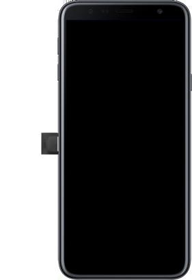 Samsung Galaxy J4 Plus - Toestel - Simkaart plaatsen - Stap 3