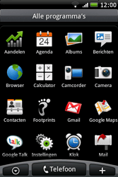 HTC A6262 Hero - E-mail - E-mails verzenden - Stap 3