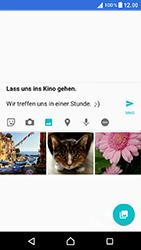 Sony Xperia XZ - MMS - Erstellen und senden - 16 / 21