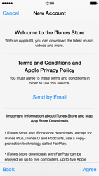 Apple iPhone 5c - iOS 8 - Applications - Setting up the application store - Step 11