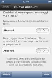 Apple iPhone 3GS - Applicazioni - Configurazione del negozio applicazioni - Fase 12