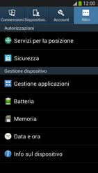 Samsung Galaxy S 4 LTE - Software - Installazione degli aggiornamenti software - Fase 5