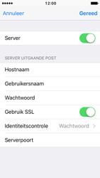 Apple iPhone SE met iOS 10 (Model A1723) - E-mail - Instellingen KPNMail controleren - Stap 19