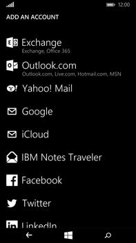 Microsoft Lumia 640 XL - Email - Manual configuration POP3 with SMTP verification - Step 6