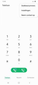 Samsung Galaxy A70 - voicemail - handmatig instellen - stap 5