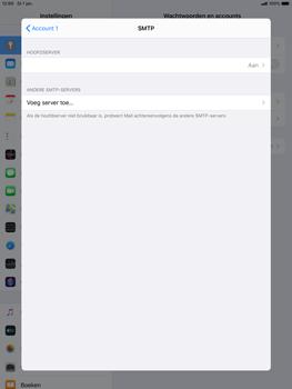 Apple ipad-air-10-5-inch-2019-model-a2123-ipados-13 - E-mail - Account instellen (POP3 zonder SMTP-verificatie) - Stap 17