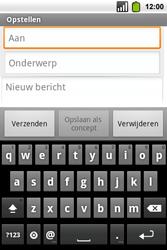 Alcatel OT-991 Smart - E-mail - hoe te versturen - Stap 5