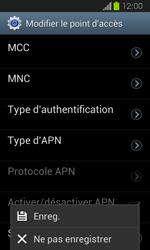 Samsung I8730 Galaxy Express - Internet - Configuration manuelle - Étape 14