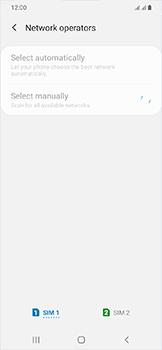 Samsung Galaxy A20e - Network - Manually select a network - Step 10